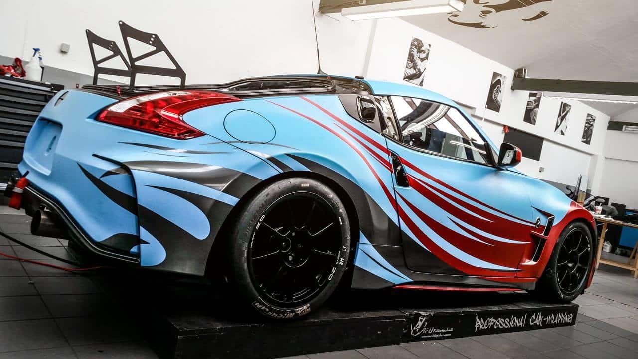 Nissan 370Z Designfolierung
