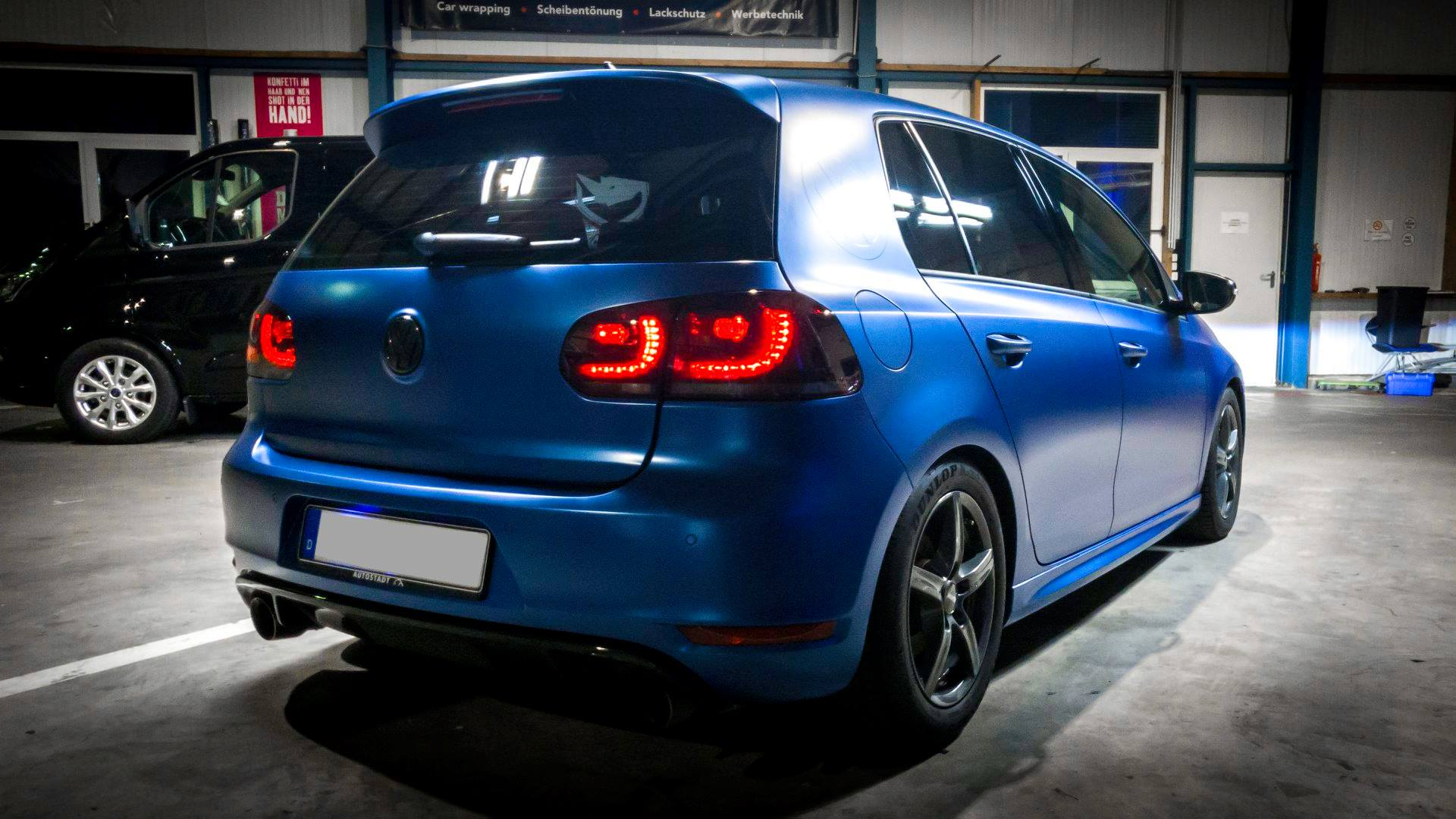 Golf 7 Volkswagen VW Avery Blue Matte