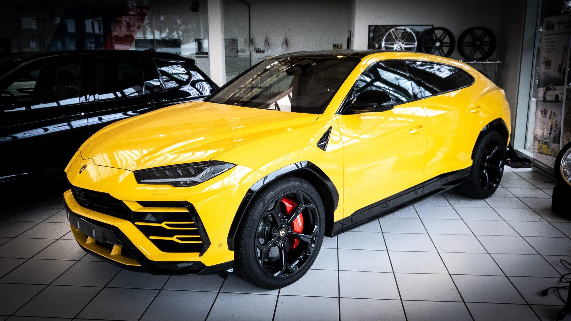 Lamborghini Urus Folierung