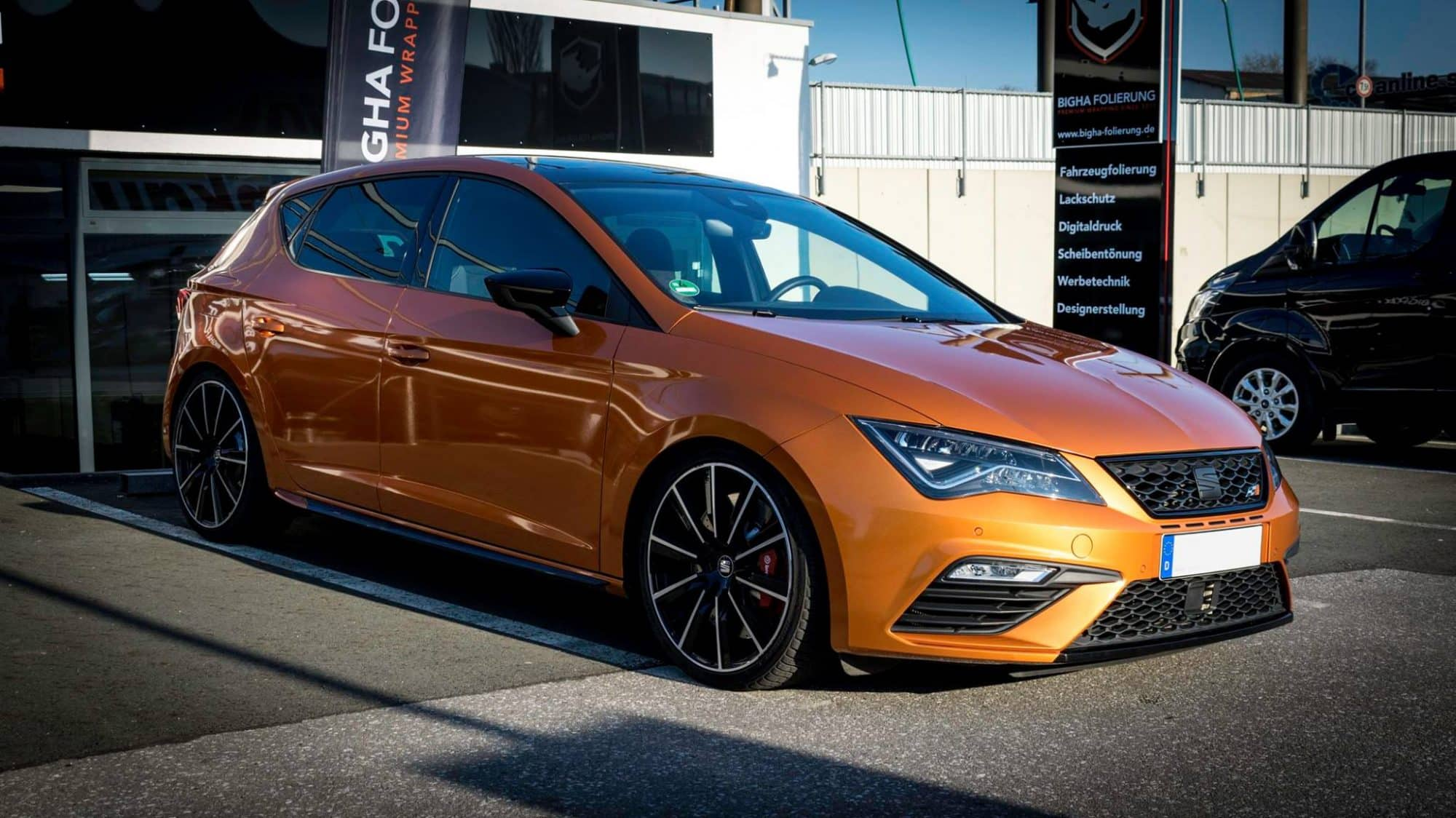 Seat leon Folierung 3M Liquid Copper