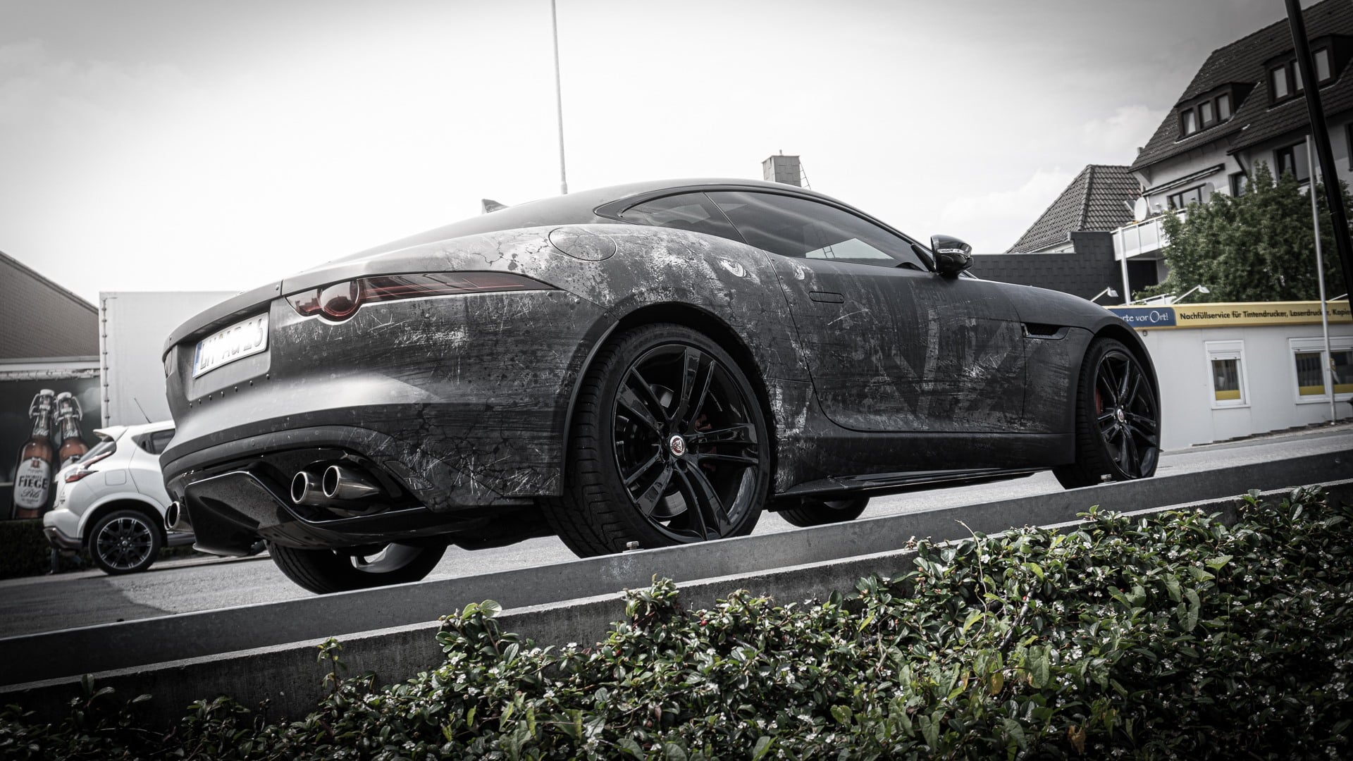 Jaguar F-Type R Folierung