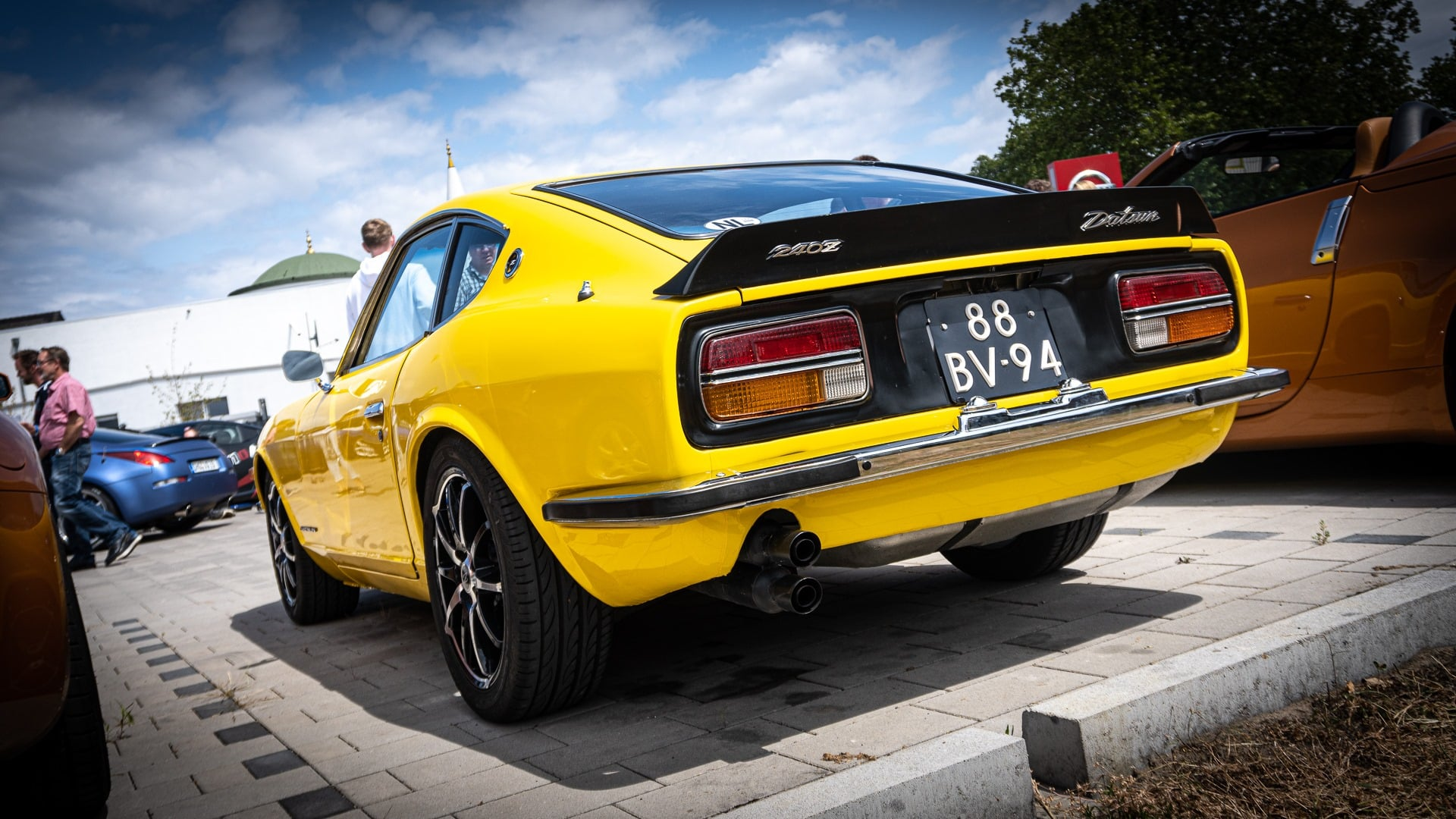 Datsun Folierung Z Avery Gelb Yellow