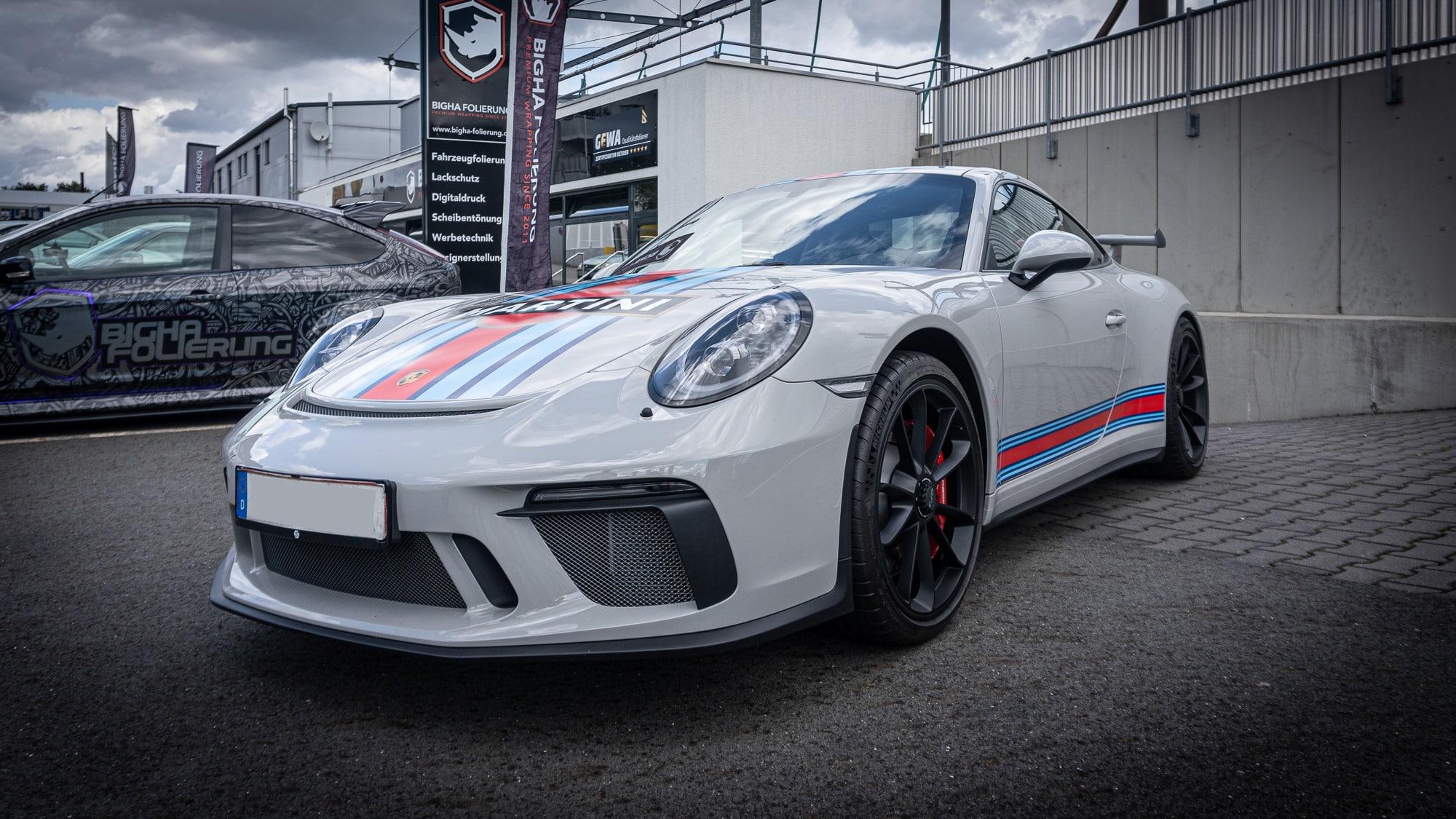 Porsche GT3 991 911 Martini Design
