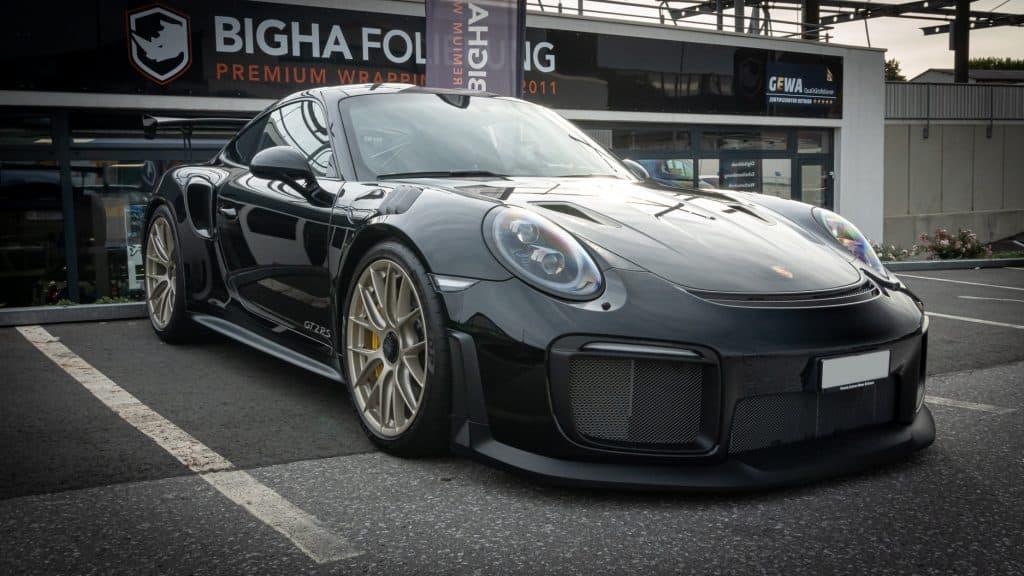 Porsche GT2 RS Lackschutz Steinschlagschutz XPEL