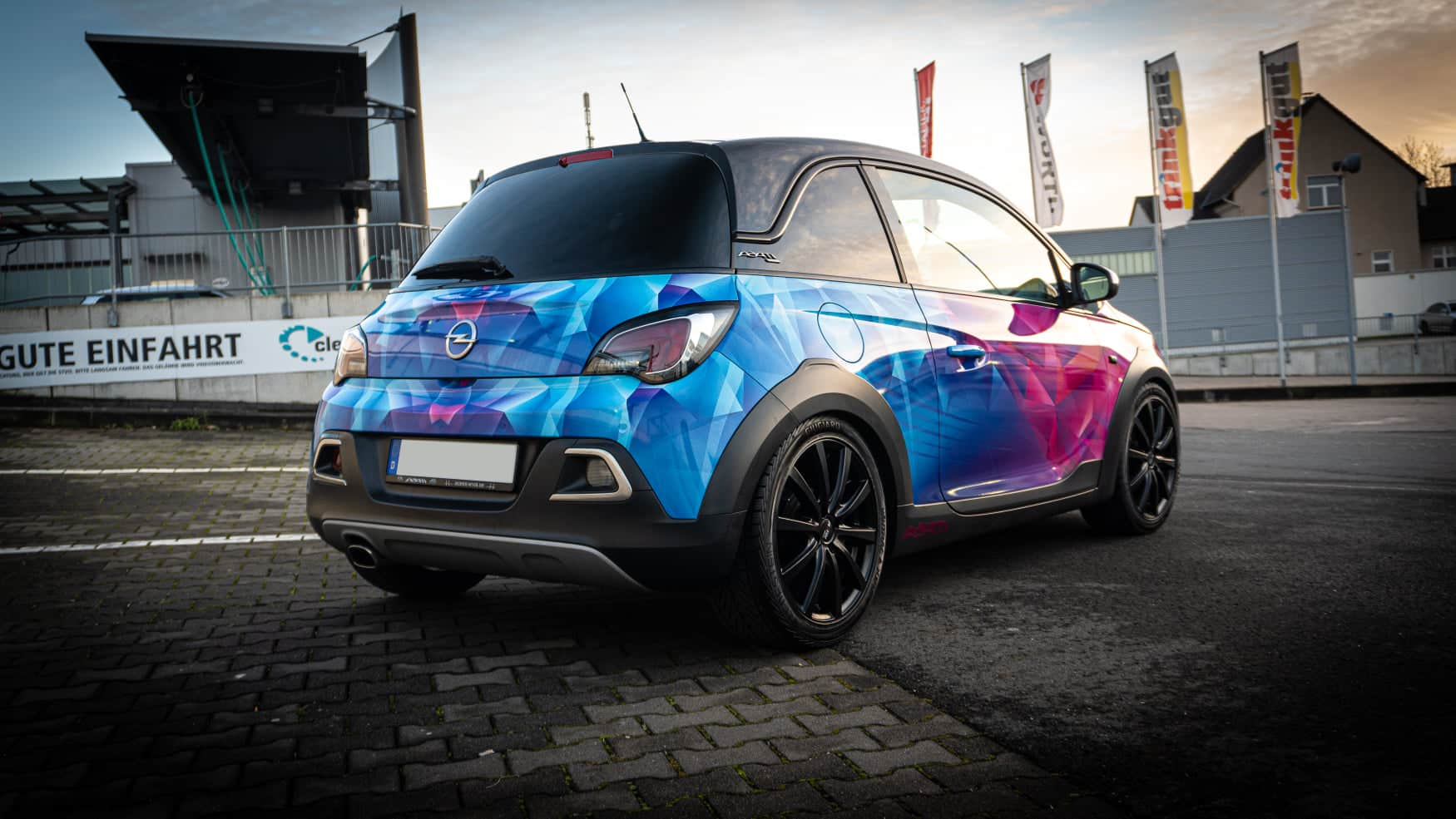 Opel Adam Rocks Folierung Digitaldruck