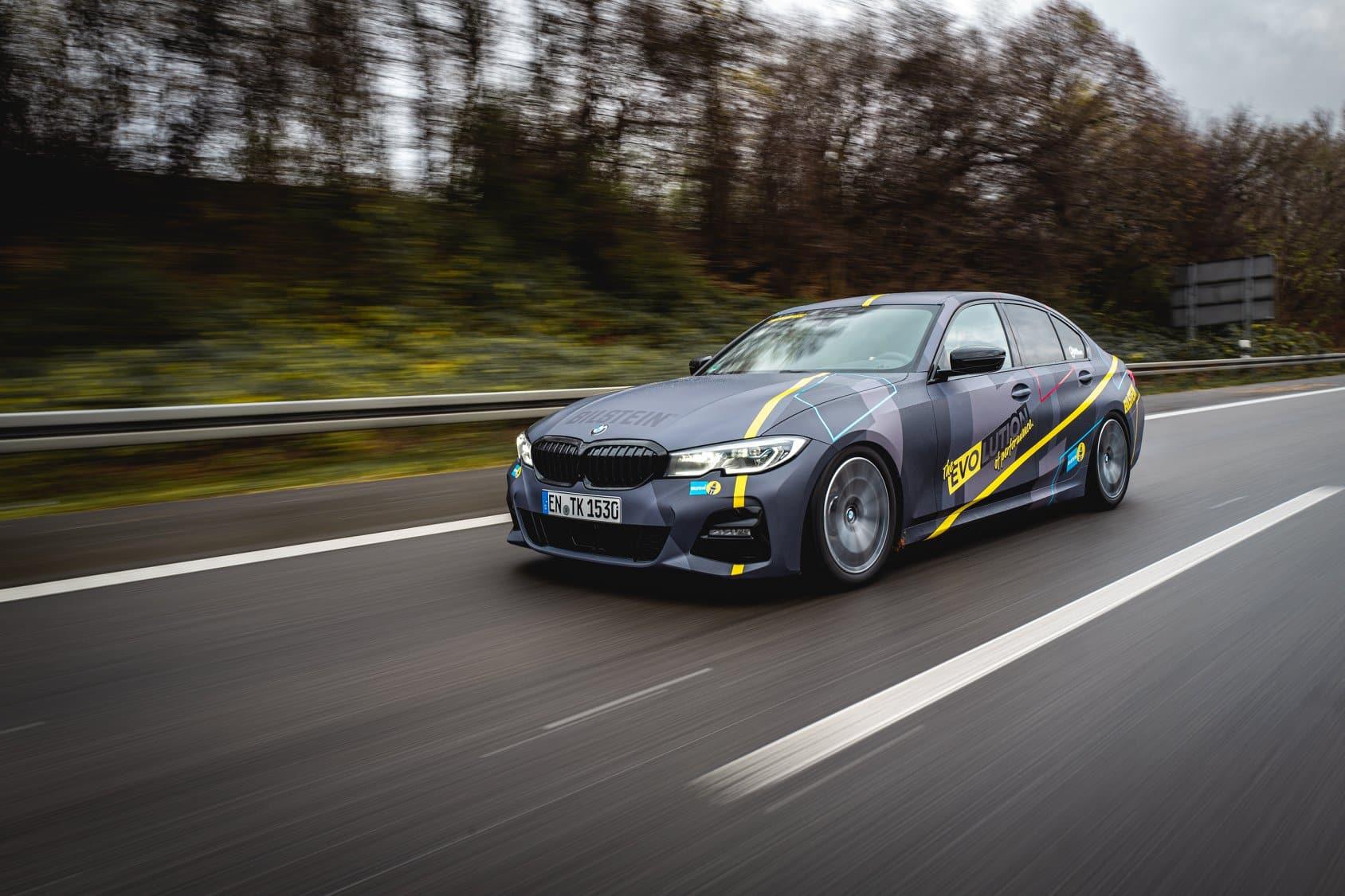 BMW M3 3er Folierung Digitaldruck folieren Bilstein Fahrwerk