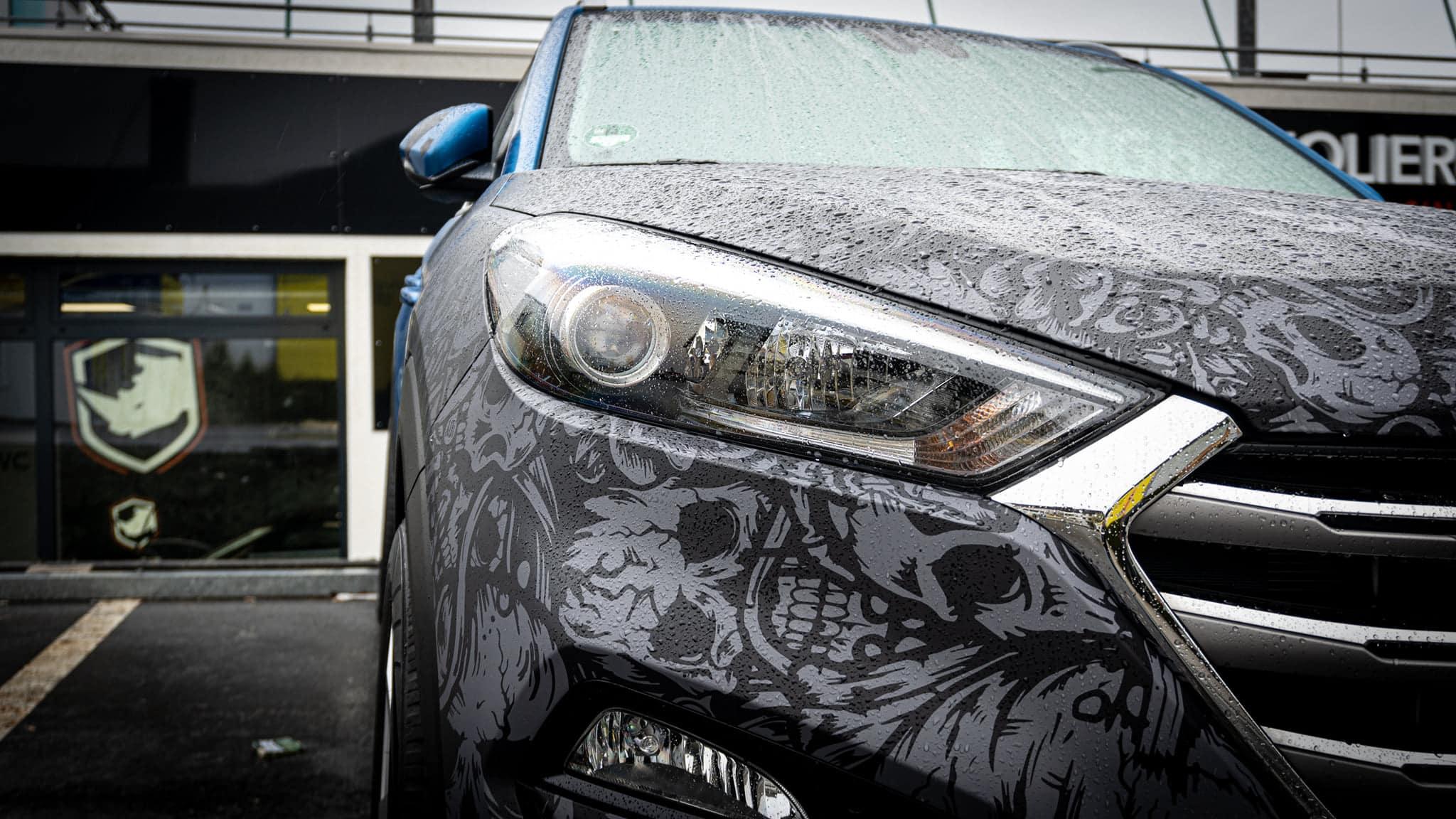Hyundai Tucson Folierung