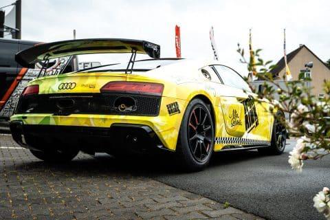 Der Spielkind Racing Audi R8 GT4 von Felix von der Laden