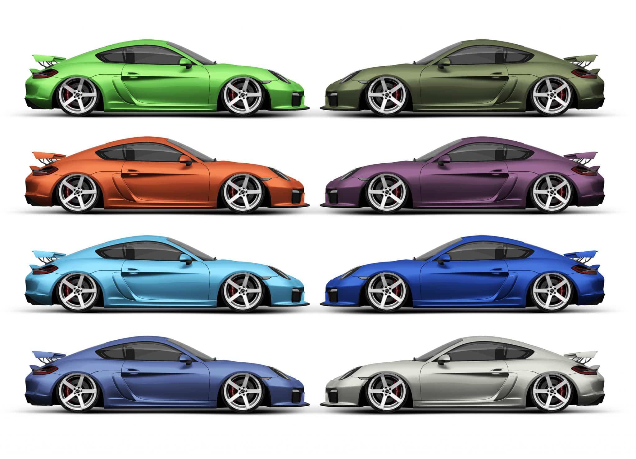 Color Match Porsche colors