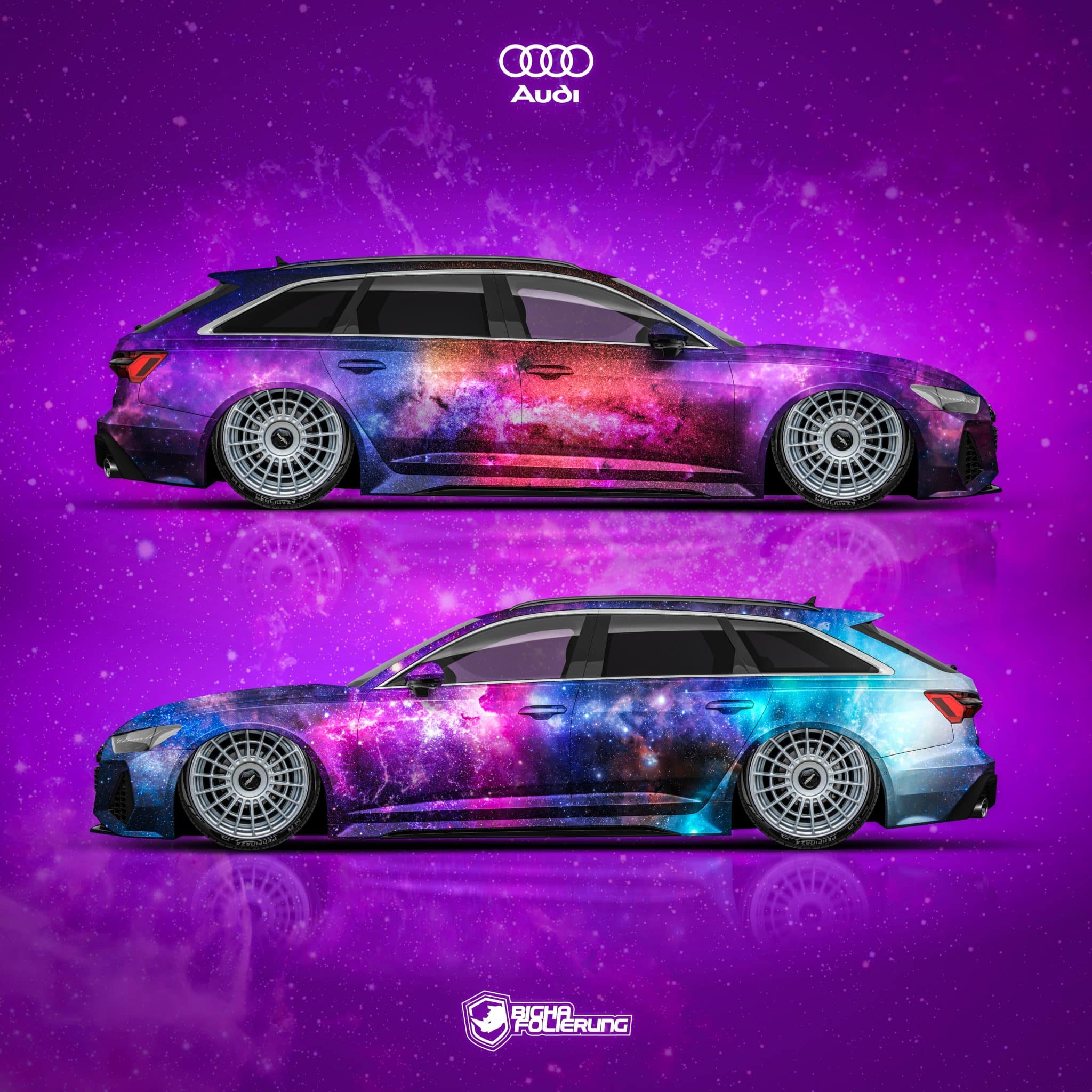 Audi RS6 Galaxy Design